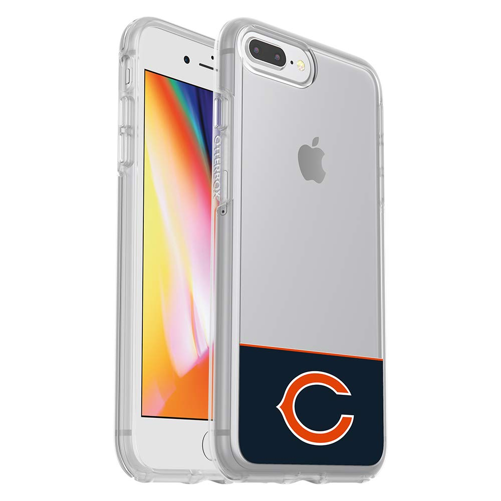 OtterBox NFL SYMMETRY SERIES Case for iPhone 8 Plus & 7 Plus (ONLY) - Retail Packaging - BEARS