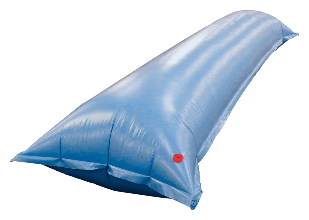 Buffalo Blizzard 4.5-Foot by 15-Foot Long Air Pillow | Blue 22-Gauge Heavy-Duty Vinyl Material | Inflate Pillow Underneath Winter Cover for Swimming Pools | 2 Pack