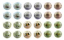 Bela Bath & Beauty, Bela Premium Bath Bombs, Mixed Assortment 2, With Moisturizing Shea Butter and Coconut Oil, 4.5 oz Each - Set of 24