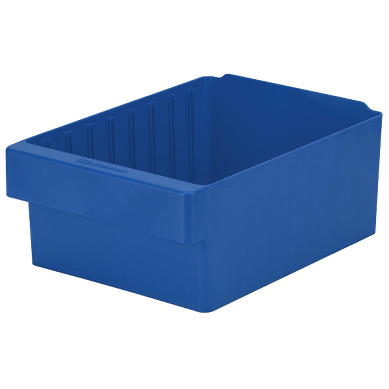 Akro-Mils, 31188BLU, Drawer Bin, 17-5/8 X 8-3/8 X 4-5/8In, Blue