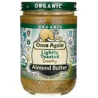 Once Again Organic Almond Butter, Crunchy, 16 oz