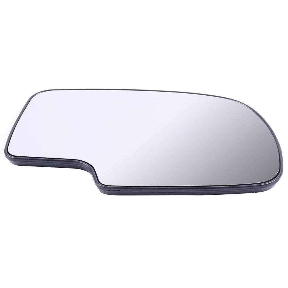 ECCPP Side Mirrors Replace for Chevrolet Chevy Silverado Suburban 1500 2500 3500 Tahoe GMC Sierra Yukon Power Heated Chrome Tow Mirrors for 1999 2000 2001 2002