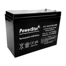 12 Volt 10 AH Rechargeable Sealed Lead Acid Battery (SLA) F2 .250 12v 10ah