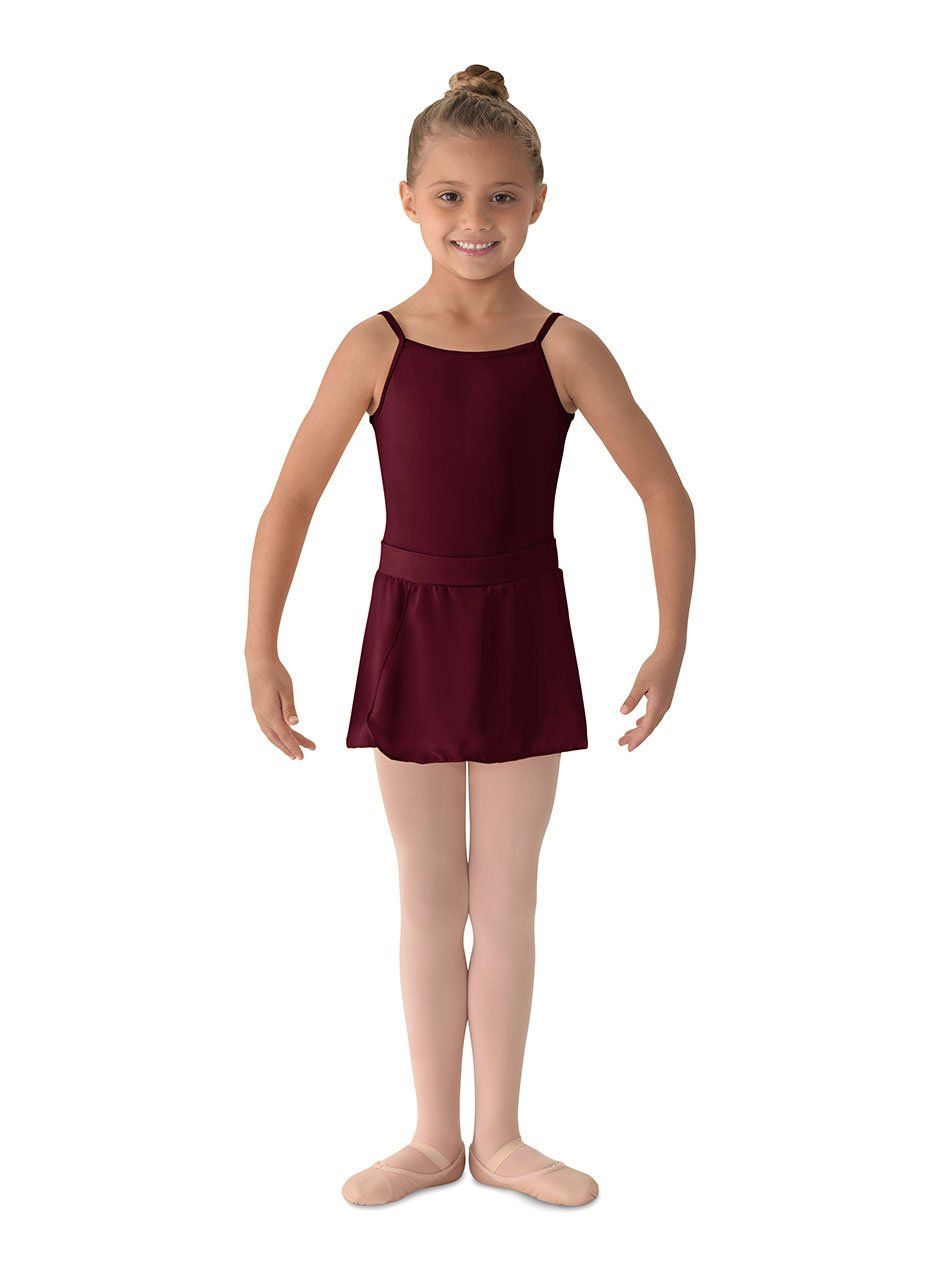 Mirella girls Mirella Girl's Georgette Mock Wrap Skirt