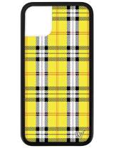 Wildflower Limited Edition Cases for iPhone 11 (Yellow Plaid)
