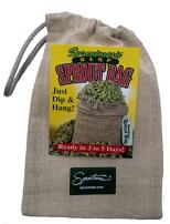 Sproutman Hemp Sprout Bag - Just Dip in Water, Hang It Up, Watch It Grow