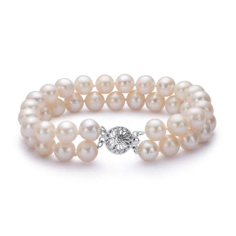Valentine Gift Bridesmaid Bracelet Wedding Party Gift Anniversary Gift Natural Mother of Pearls 12 mm Bracelet Mother of Pearl
