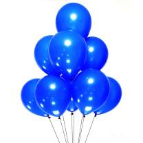 AZOWA Royal Blue Latex Balloons 12 inch Small Party Balloons Pack of 200 for Wedding Baby Shower Birthday Party Decorations