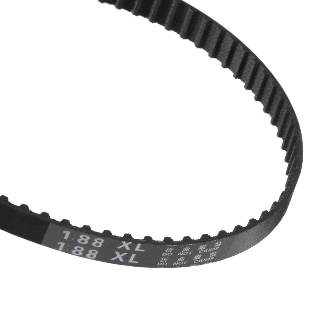 uxcell 188XL Rubber Timing Belt Synchronous Closed Loop Belt Timing Pulley Tools 10mm Width 2pcs