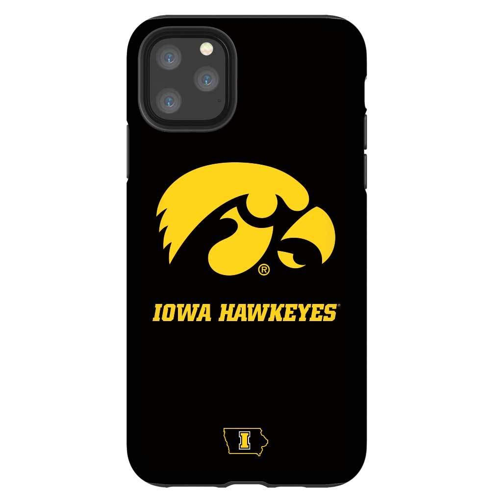 Tough Phone Case for iPhone 11 Pro - Protective Glossy iPhone Case with Iowa Design