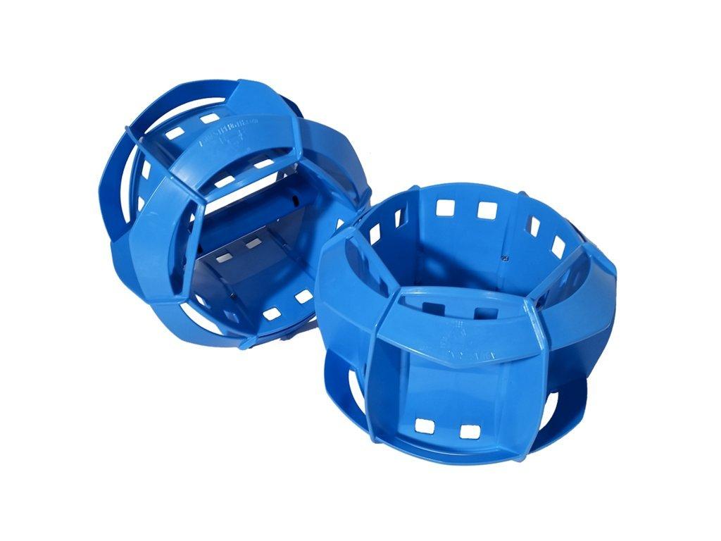 Aquastrength All Purpose Resistance Aquatic Exercise Bells - Upper Body Pool Exercise Equipment (Pair)
