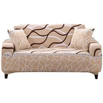FORCHEER Slipcovers for Couches Stretch Geometric Sofa Cover 3-Seater Leather Furniture Protector from Pet for Home Living Room