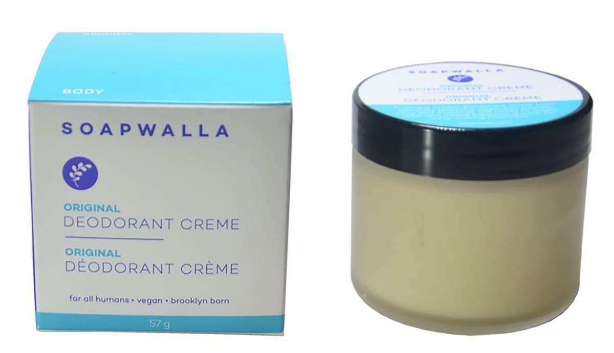 Soapwalla - Organic Deodorant Cream (2 oz)   Non-Toxic, Food Grade Ingredients (New Packaging)