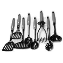 Chef Craft 42048 8-Piece Kitchen Tool Set, Gray