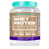 Eat the Bear, Naturally Grass Fed Whey Protein Powder, Keto Friendly Protein Powder, 100 Calories, All Natural, Gluten Free (25 Servings, Blueberry Muffin)