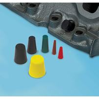 Eastwood 30 Pieces High Temperature Silicone Plugs Rubber Tapered Plug Assortment Kit Masking Off Holes During Powder Coating Painting