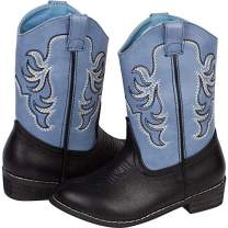 Wild Bear Boots Kids Cowboy Boots Girl and Boy Horseback Riding Boots