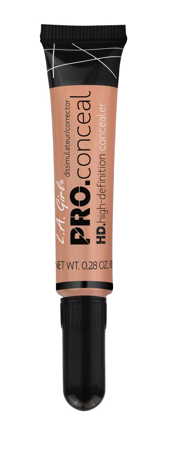 L.A. Girl Pro Conceal HD Concealer, Peach Corrector, 0.28 Ounce
