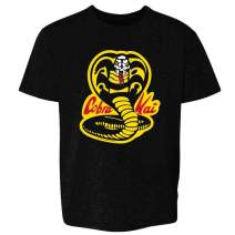 Cobra Kai Karate Kid Merchandise Retro No Mercy Youth Kids Girl Boy T-Shirt