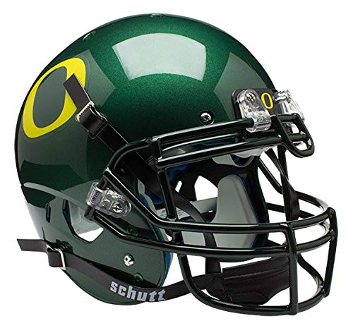 Schutt NCAA Oregon Ducks Collectibles On-Field Authentic Football Helmet