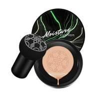 Firstfly Mushroom Air Cushion CC Cream Moisturizing Concealer Makeup Base Primer Liquid Foundation (Natural)