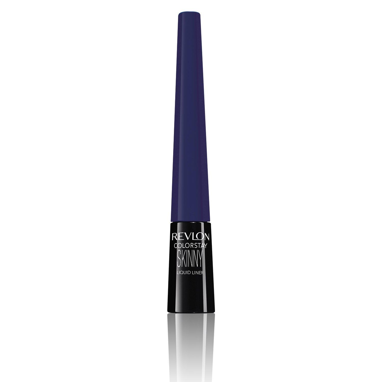 Revlon ColorStay Skinny Liquid Eyeliner, Navy Shock, 1 Count