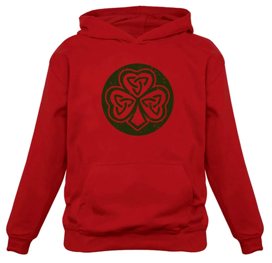 Celtic Clover Irish Shamrock Gift for St. Patrick's Day Cool Hoodie