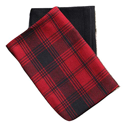 """Plaid Kitchen towels, Set of 2 Dish towels, Size- 18""""x28"""", Highly Absorbent - Great for Cooking in Kitchen and Household Cleaning"""