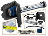 Cold Air Intake System with Heat Shield Kit + Filter Combo BLUE Compatible For 05-11 Toyota Tacoma 4.0L V6