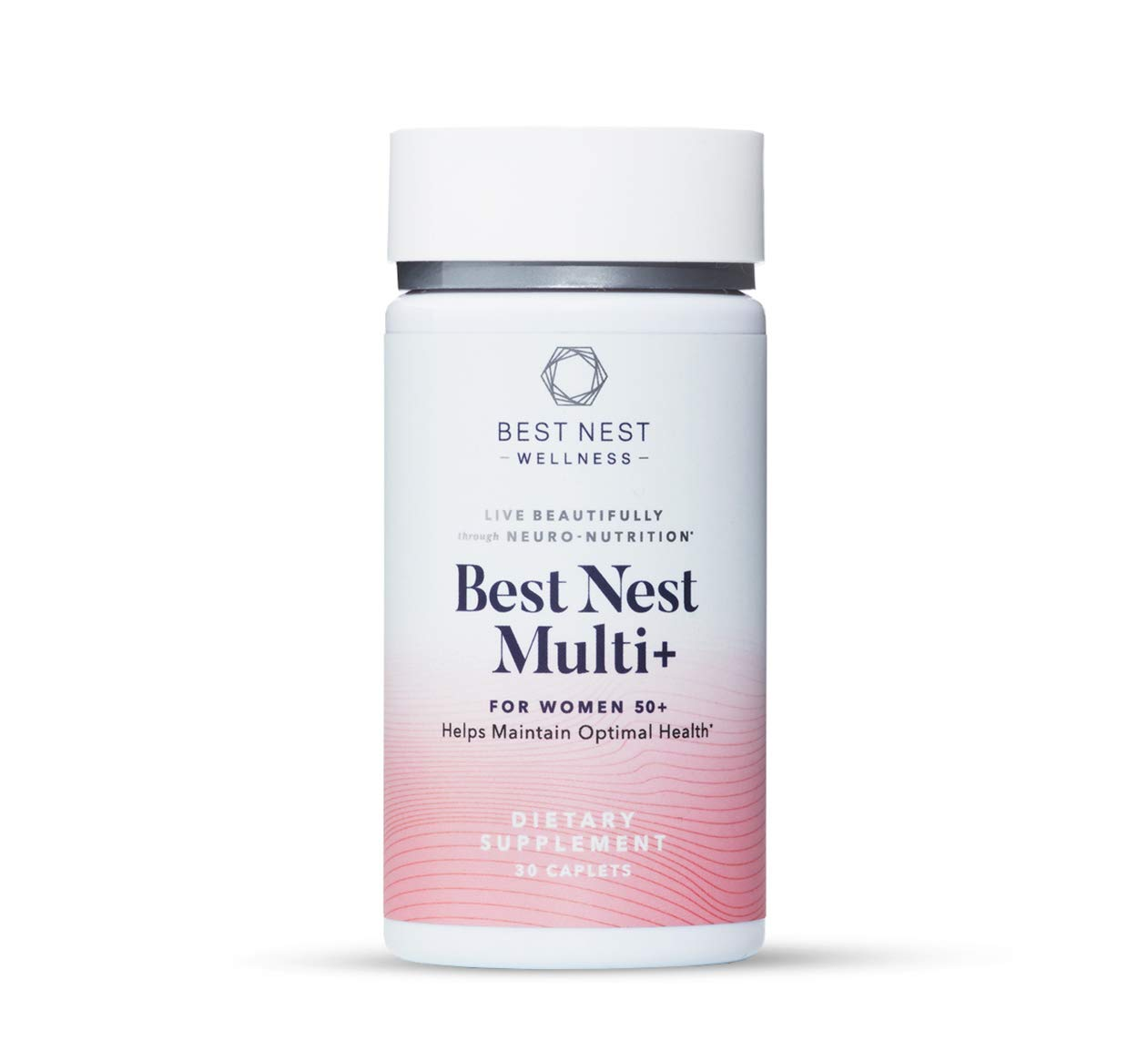 Best Nest Multi+ for Women Over 50, Methylfolate (Folic Acid), Natural Whole Food Organic Blend, Once Daily Vitamins, Immune Support, 30 Ct, Best Nest Wellness