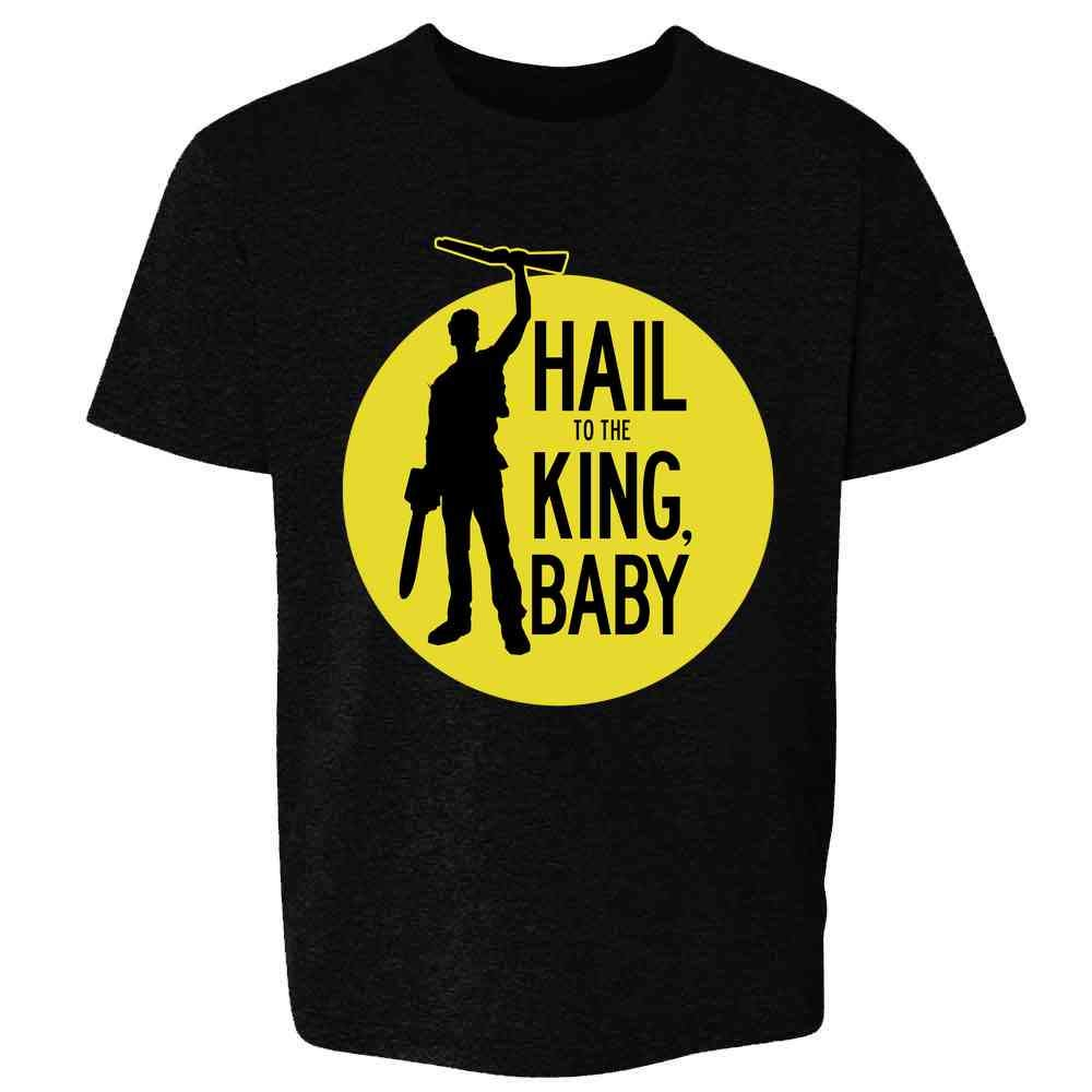 Hail to The King Baby Horror Army Zombie Youth Kids Girl Boy T-Shirt