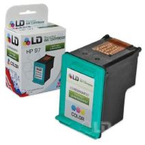 LD Remanufactured Ink Cartridge Replacement for HP 97 (Color)