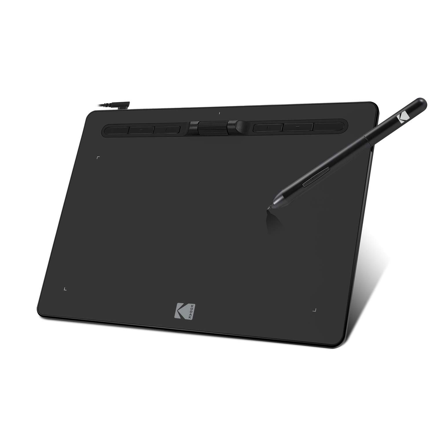 Adesso Kodak CyberTablet F10 Widescreen 10x6 Graphic Drawing Tablet,Black