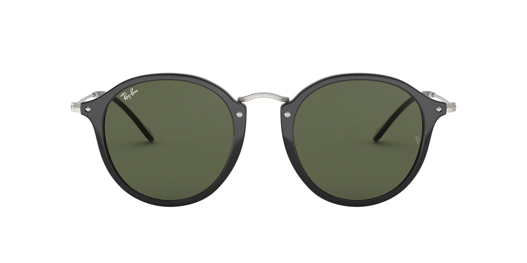 Ray-Ban Rb2447 Round Fleck Sunglasses