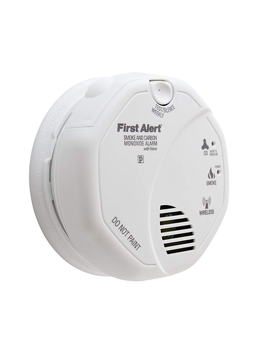 First Alert SCO500B (Series SCO500) ONELINK Battery Operated Combination Smoke and Carbon Monoxide Alarm with Voice Location2-Pack