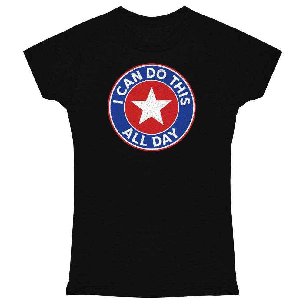 Superhero Movie Comic Book Costume I Love You 3000 Graphic Tee T Shirt for Women