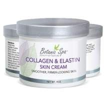 Botanic Spa Collagen & Elastin Skin Cream - Natural Skin Moisturizer - Helps Restore Skin & Natural Elasticity and Suppleness Reverse Signs of Aging Retains Skin Moisture and Tone