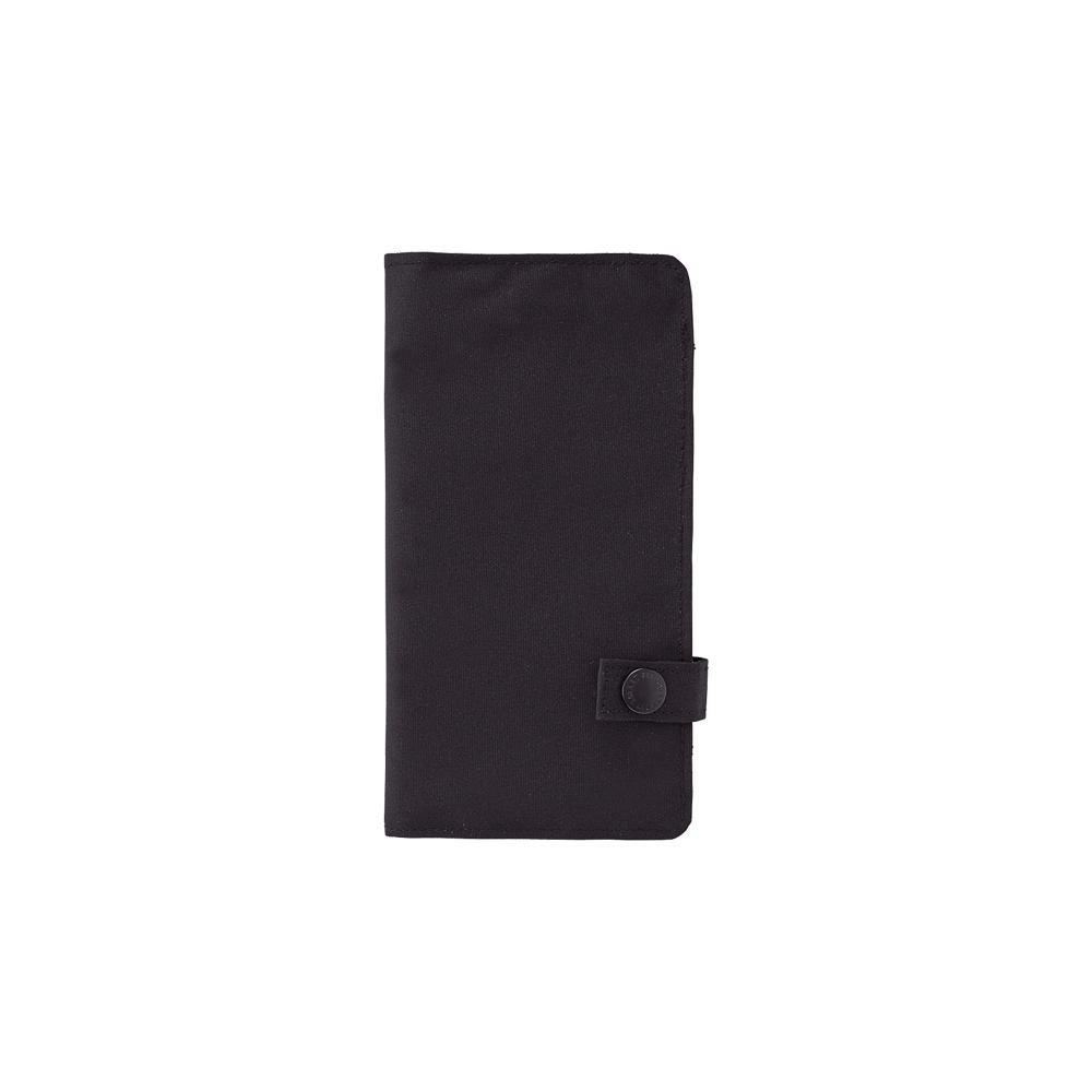 "LIHIT LAB Slim Pen Case, 7.5 x 4.3"", Black (A7585-24)"