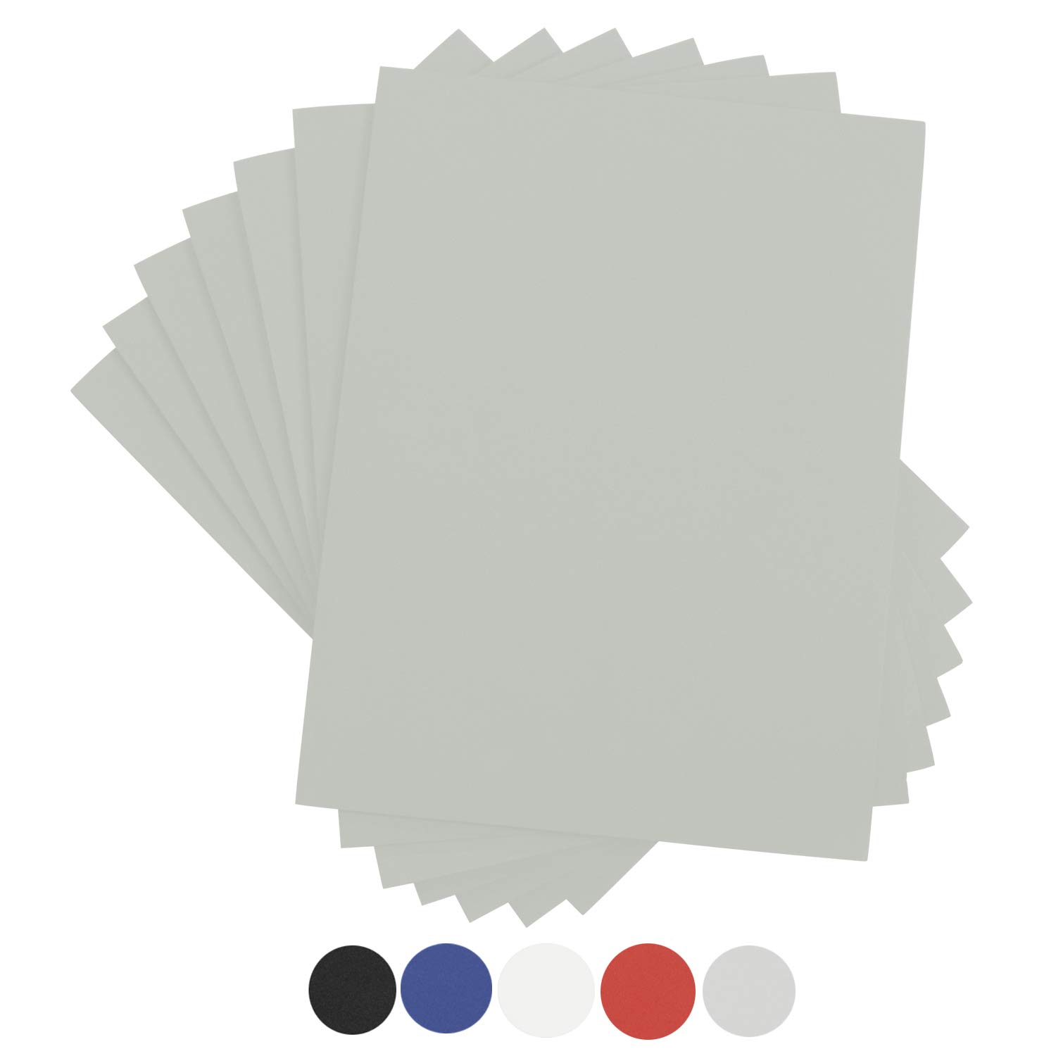 Houseables Crafts Foam Sheets, Art Supplies, 6mm Thick, Grey, 9 X 12 Inch, 10 Pack, Paper Scrapbooking, Cosplay, Crafting Foams Paper, Styrofoam, Foamie, for Kids, Boy Scouts, Halloween, Cushion