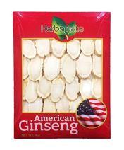 Hand-Selected A Grade American Ginseng Large Slice (4Oz. Box)