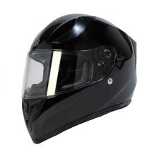 TORC Unisex-Adult Full-face Style T15 Motorcycle Helmet With Solid Color Gloss Black SMALL