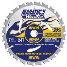 Irwin Industrial 24035 Framing/Ripping Weldtec Saw Blade