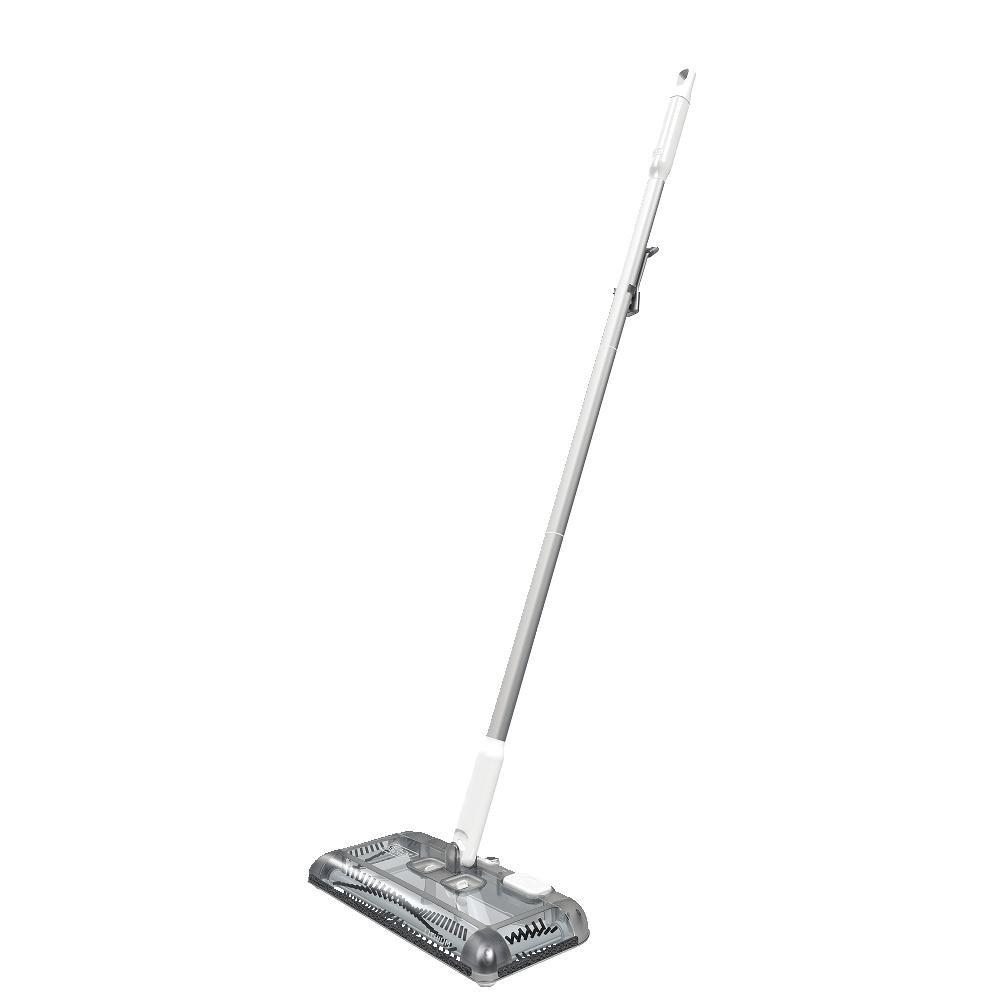 BLACK+DECKER Floor Sweeper, 50-min runtime, Powder White (HFS115J10)