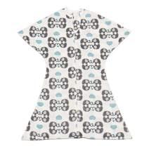 SleepingBaby Animal Zipadee-Zip Swaddle Transition Baby Swaddle Blanket with Zipper, Cozy Baby Swaddle Wrap and Baby Sleep Sack (Extra Large 2T-3T | 34+ lbs, 37-42 inches | eLovephant)