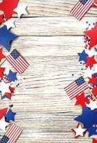 Baocicco 5x7ft American Flag Theme Party Backdrop for Photography Wood Backdrop The Stars and The Stripes Stars Decor Photography Background Birthday Party Independence Day Flag Day Photo Studio