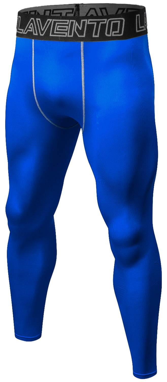 Lavento Men's Compression Base Layer Leggings Running Tights