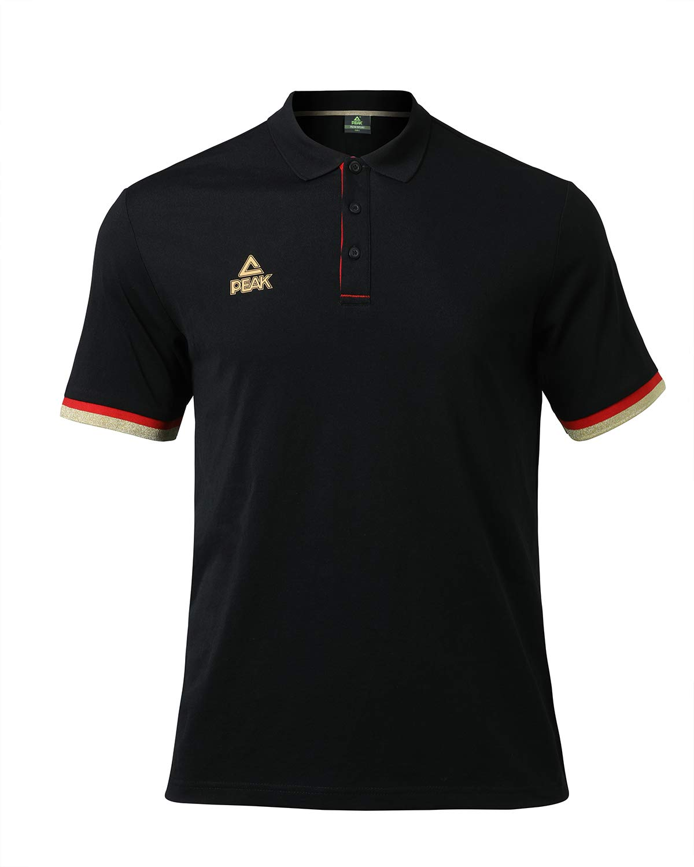 PEAK Men's Short Sleeve Golf Polo Sport Shirt