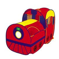 Liberty Imports Kids Pop Up Play Tent - Foldable Indoor and Outdoor Playhouse for Toddlers, Boys and Girls (Locomotive Train)