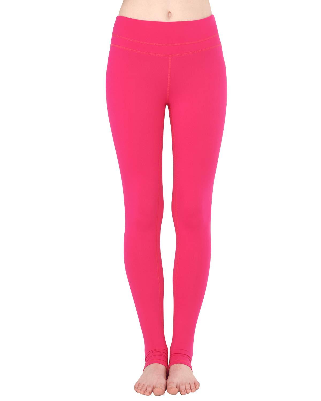 Zeronic Women's High Waist Stirrup Leggings Tights Gym Workout Yoga Pants