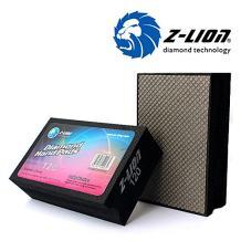Z-Lion Electroplated Diamond Hand Polishing Pads Foam Back for Granite Marble Stone Glass Ceramic (120#)